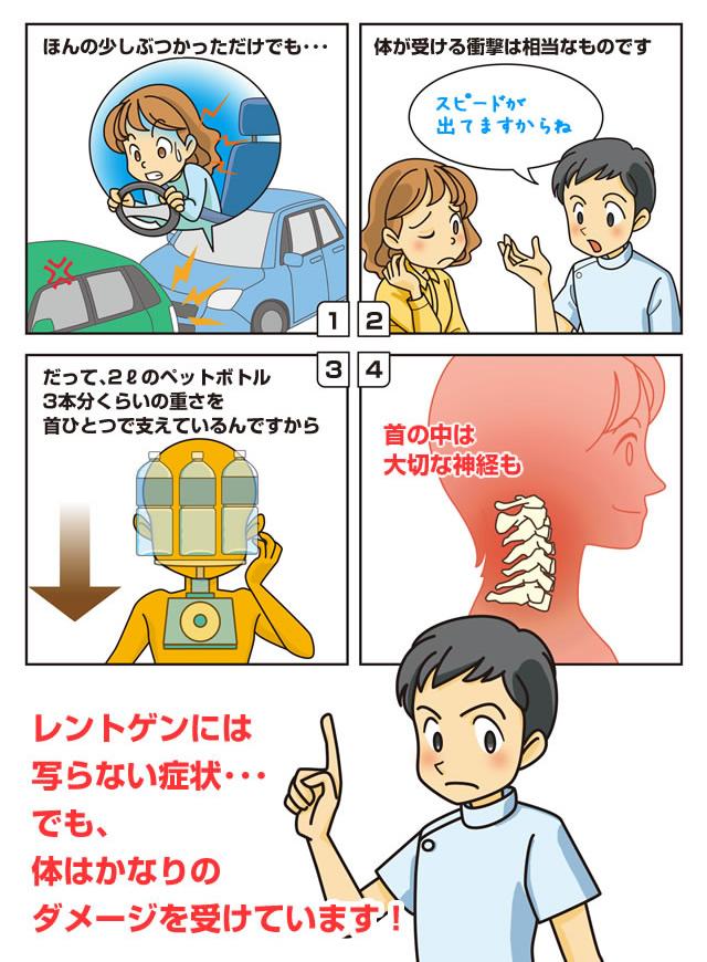 交通事故漫画